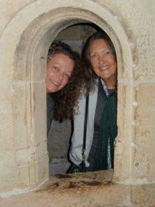 Carla with Rachel Ann.